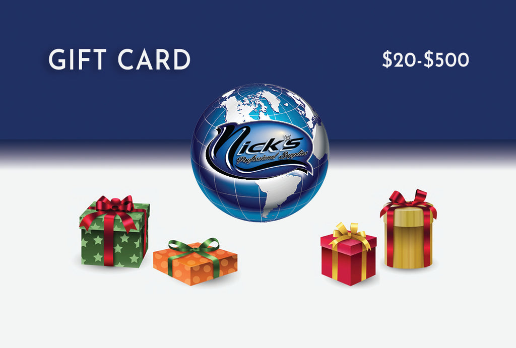 Nick's Digital Gift Card