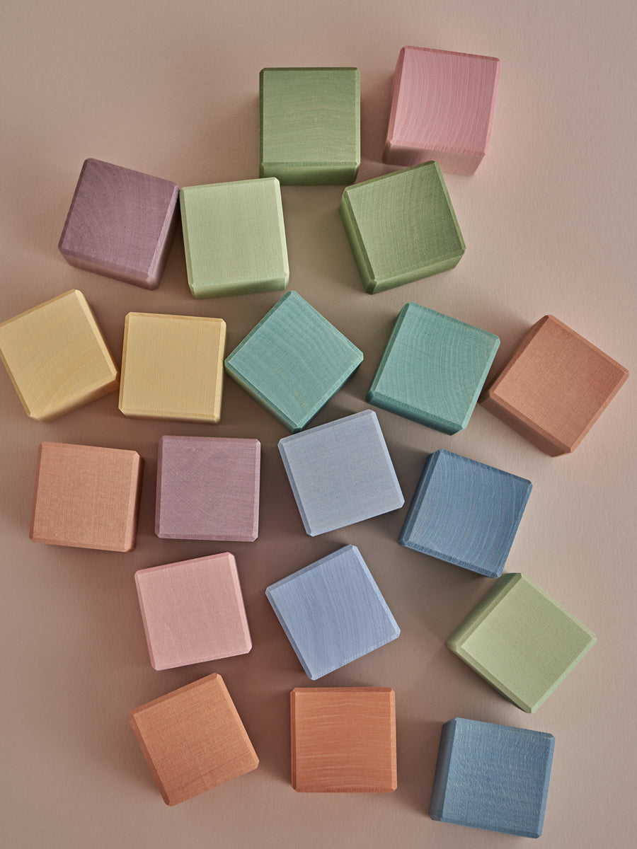 Earth Pastel Cubes