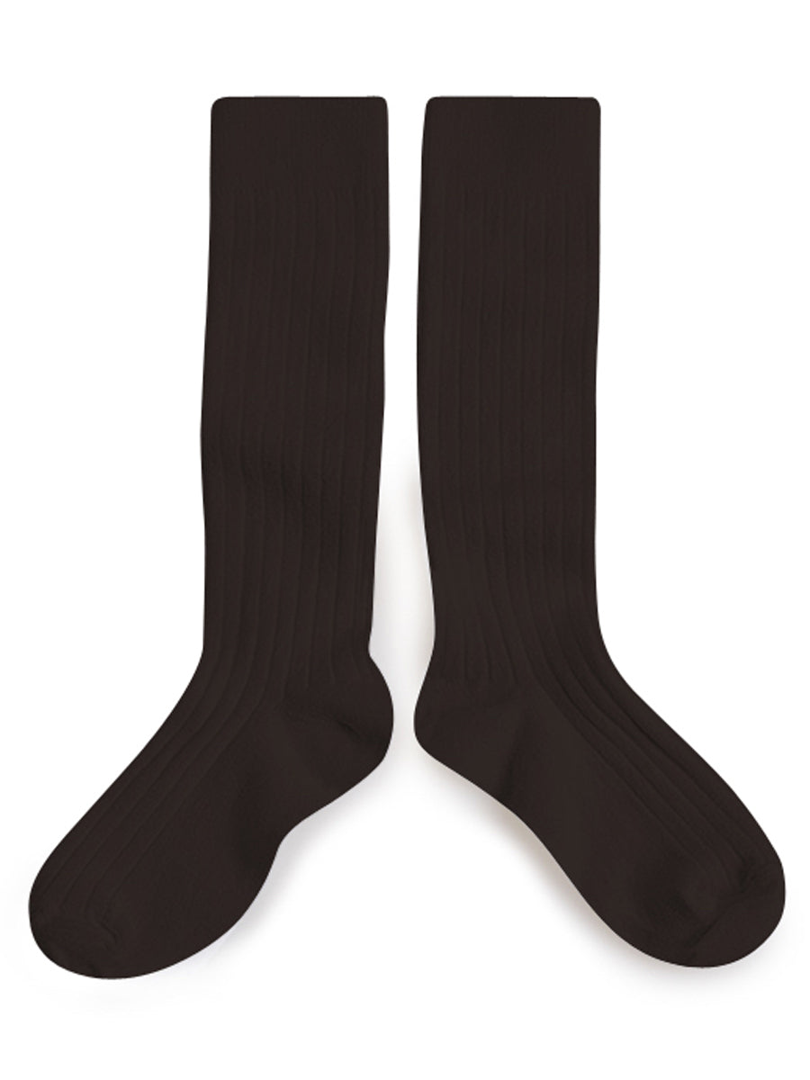 Knee High Socks - Grain De Cafe