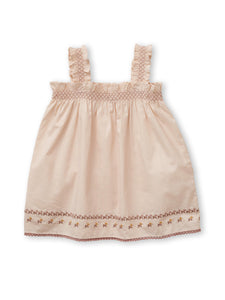 'Adine' Sundress Set - Peach