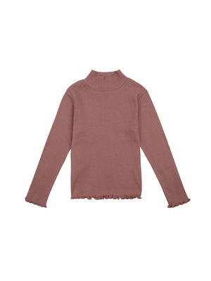 Betsy High Neck - Rose Taupe