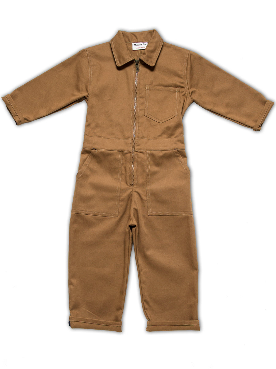 Engineer Boilersuit-Tan