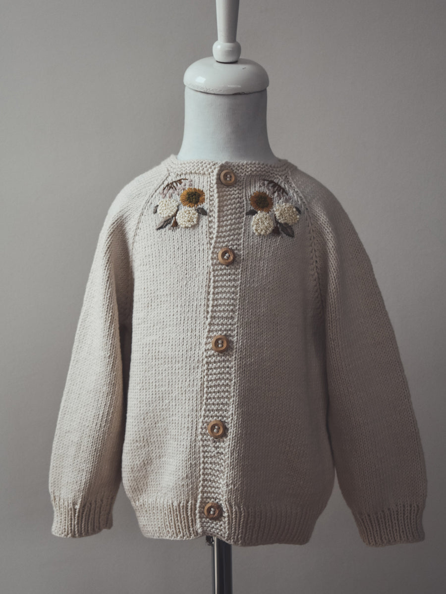 Blair Cardigan - Embroidered