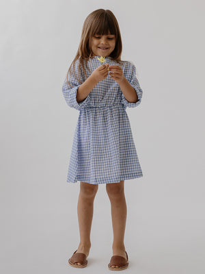 Easy Dress - Bluebird Check