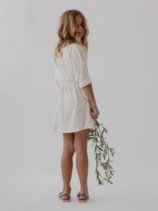 Easy Dress - Cloud Linen