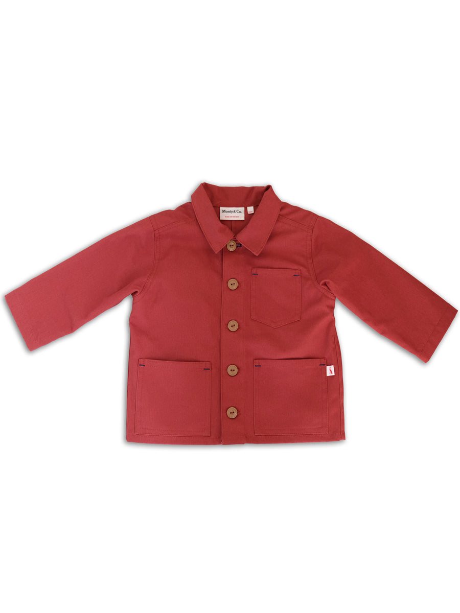 Foundry Jacket-Brick