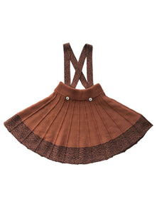 Aerona Skirt - Cinnamon/Ink
