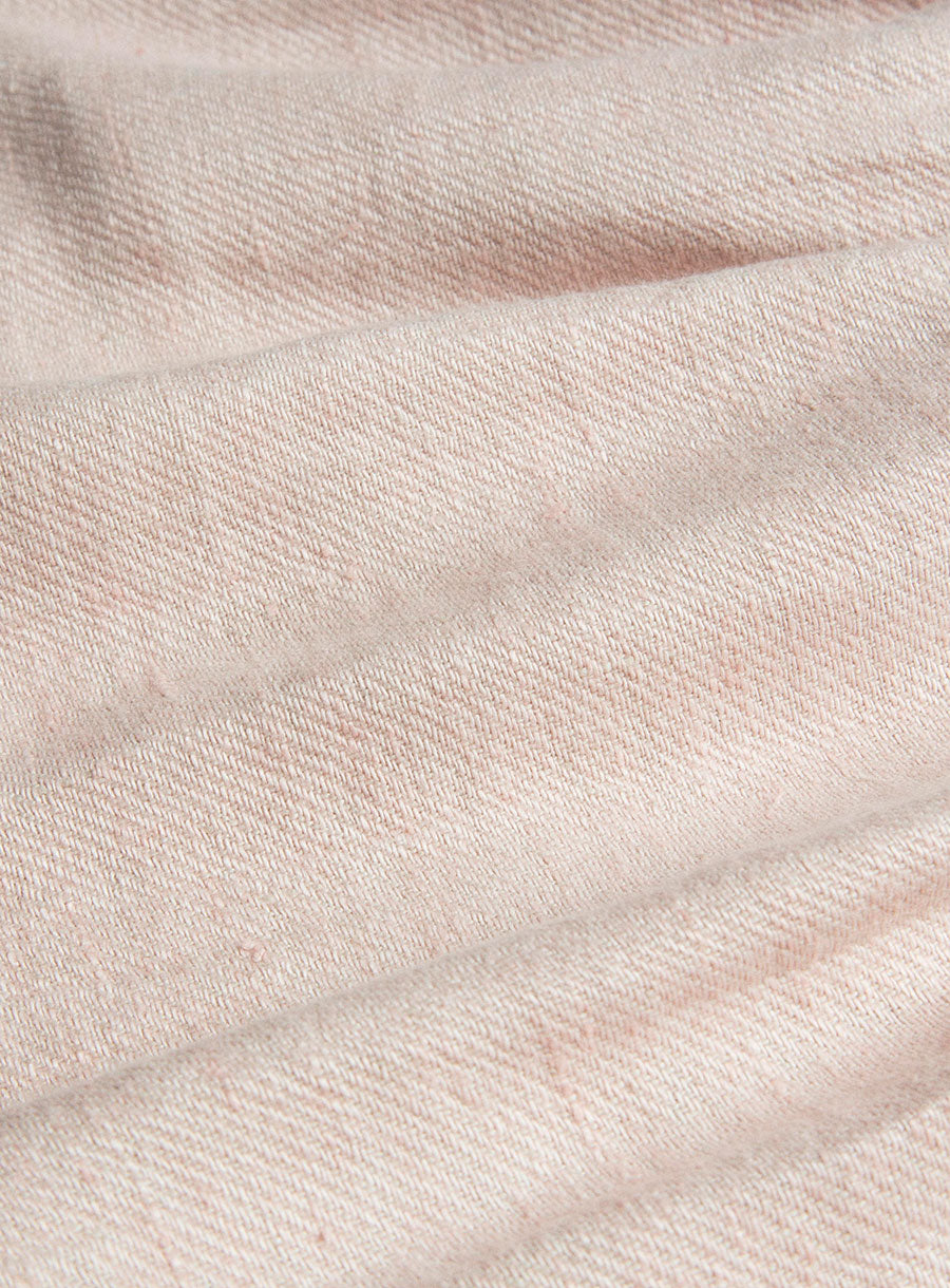 Mother May I Dress - Pastel Pink Linen