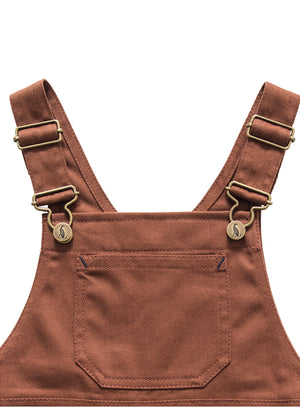Porter Dungaree-Chestnut