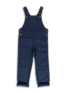 Porter Dungaree-Light Navy