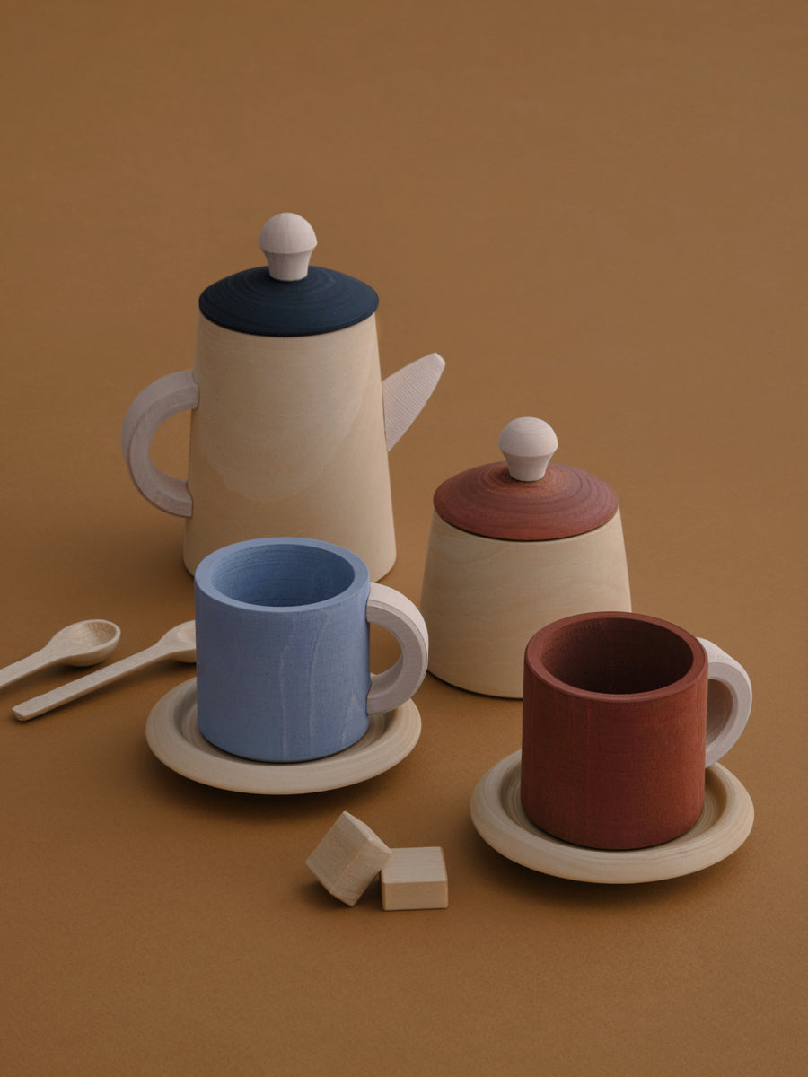 Tea Set-Terra and Blue