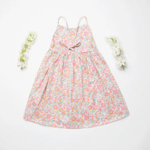 Daisy Chain Dress - Betsy Liberty Print