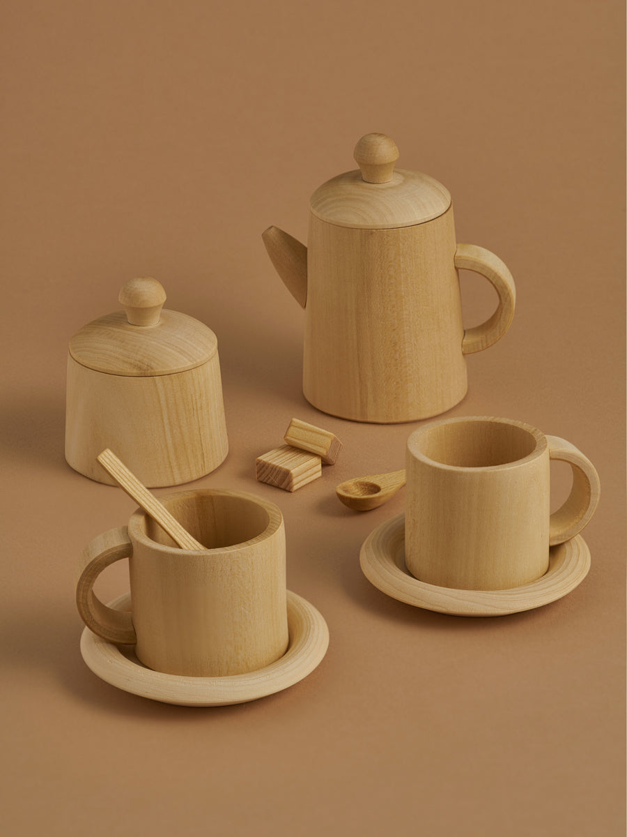 Tea Set-Natural