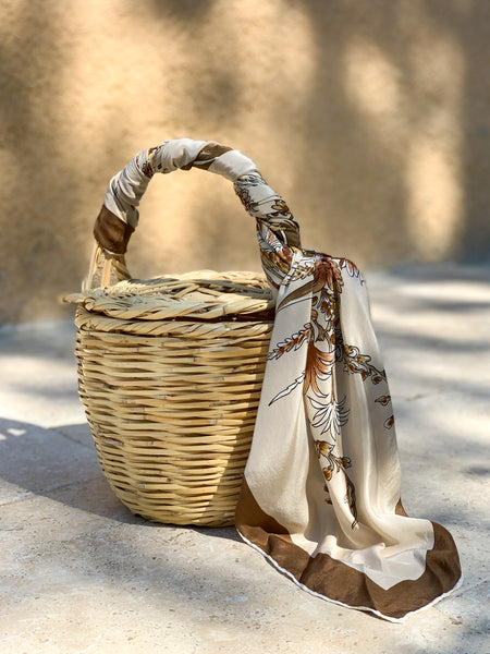 Flowers Of Fall | Bangs Birkin Basket