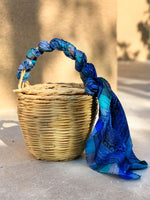 Blue Paradise | Bangs Birkin Basket