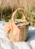 Bangs Birkin Basket | Pastel Peach