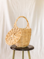 Bangs Birkin Basket | Lovely Linen White