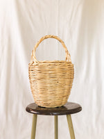 Bangs Birkin Basket | Check Green