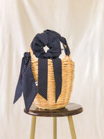 Jane Birkin Basket Bag French Parisienne 籃  Wicker bag Bangs Vintage French accessories Parisienne style Korb cesta em cana Panier de paille Sac en osier Straw bag バスケット scrunchie