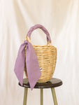 Bangs Birkin Basket | Parisian Dots Lilac