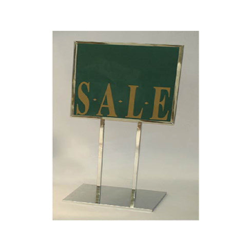 SIGN HOLDER  CHROME