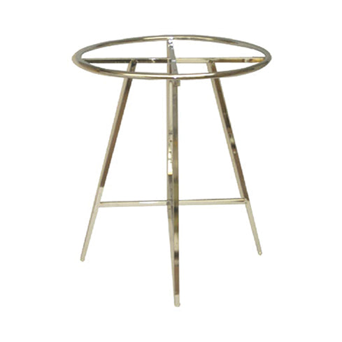 "36"" DIAMETER ADJUSTABLE ROUND RACK CHROME"