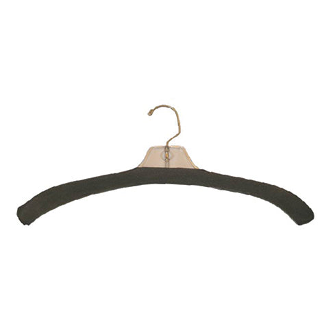 FOAM HANGER COVER CHARCOAL, WHITE