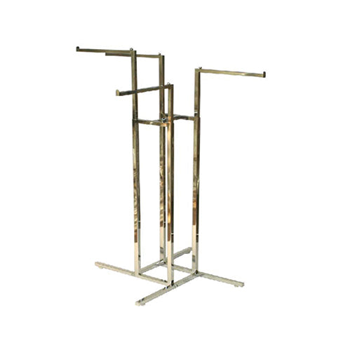 4 WAY ARMS RACK CHROME