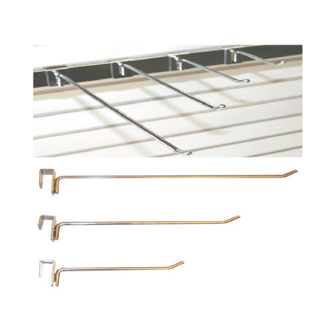 RECTANGULAR BAR HOOK CHROME