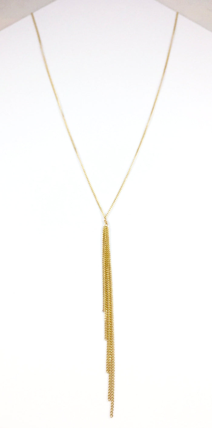 Tassel Lariet Necklace
