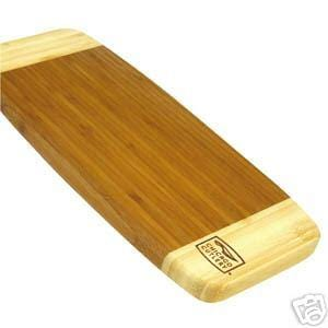 Chicago Cutlery Woodworks 14 by 5 Bamboo Board