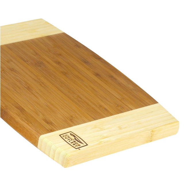 Chicago Cutlery Woodworks 12 by 8 Bamboo Board