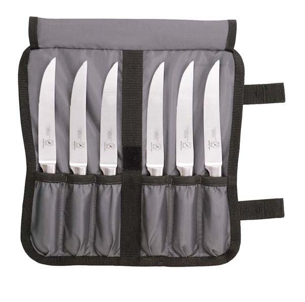 Mercer Genesis Collection 7-Piece Forged Steak Knife Set