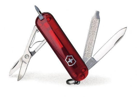 Victorinox 53095 Stylus Swiss Army Knife, Translucent Ruby