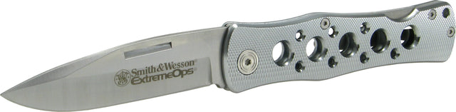 Smith & Wesson Extreme Ops Lockback Aluminum Foldback Pocket Knife