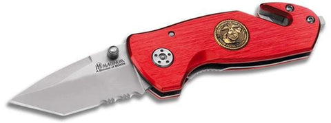 Magnum by Boker Semper Fi Compact Rescue Pocket Knife
