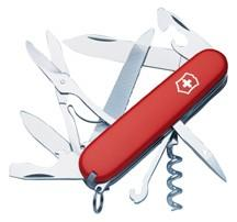 "Victorinox Swiss Army Mountaineer Multi-Tool 3-1/2"" Red"