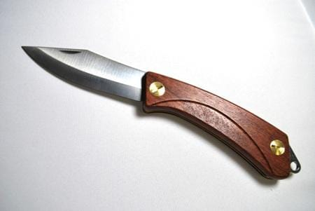 EKA Swede 82 Bubinga Handle Lockblade Pocket Knife