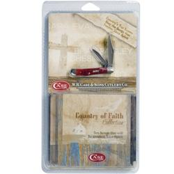 Case Cutlery Country of Faith CD & Knife Gift Set