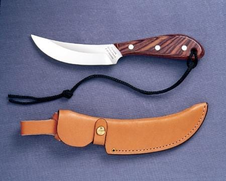 Grohmann Knives Rosewood Standard SkinnerCarbon Steel