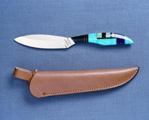 Grohmann Knives Original Turquoise Collector Knife