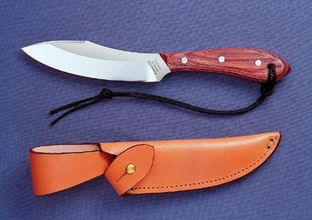 Grohmann Knives Rosewood Handle Survival Model Carbon
