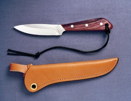 Grohmann Knives Rosewood Handle Boat/Army Knife Carbon