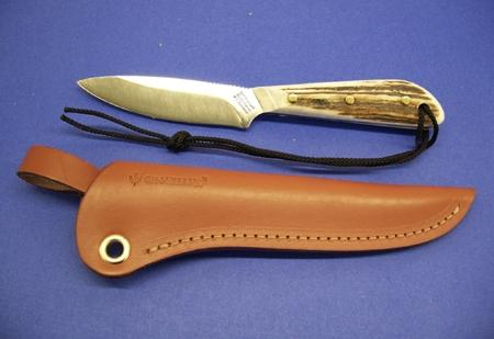 Grohmann Knives Stag Handle Boat/Army Knife Stainless Steel