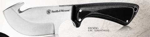 Smith & Wesson Micarta Hunting Combo with Guthook Skinner