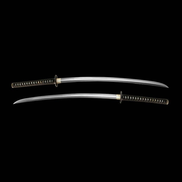 Dynasty Forge Tamahagane Shobu Katana in Mokko Cherry Theme