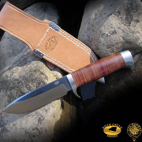 CAS Hanwei Nyala Utility Knife with Drop Point Blade