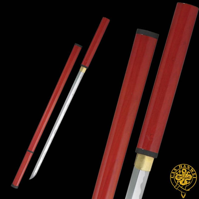 CAS Hanwei Zatoich Stick/Sword - Red Saya