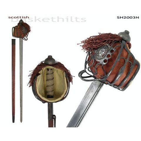 CAS Hanwei Basket-Hilt Backsword - Antiqued