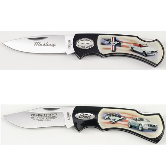 Ford Mustang 40th Anniversary Commemorative Knife Set with Colletor's Tin